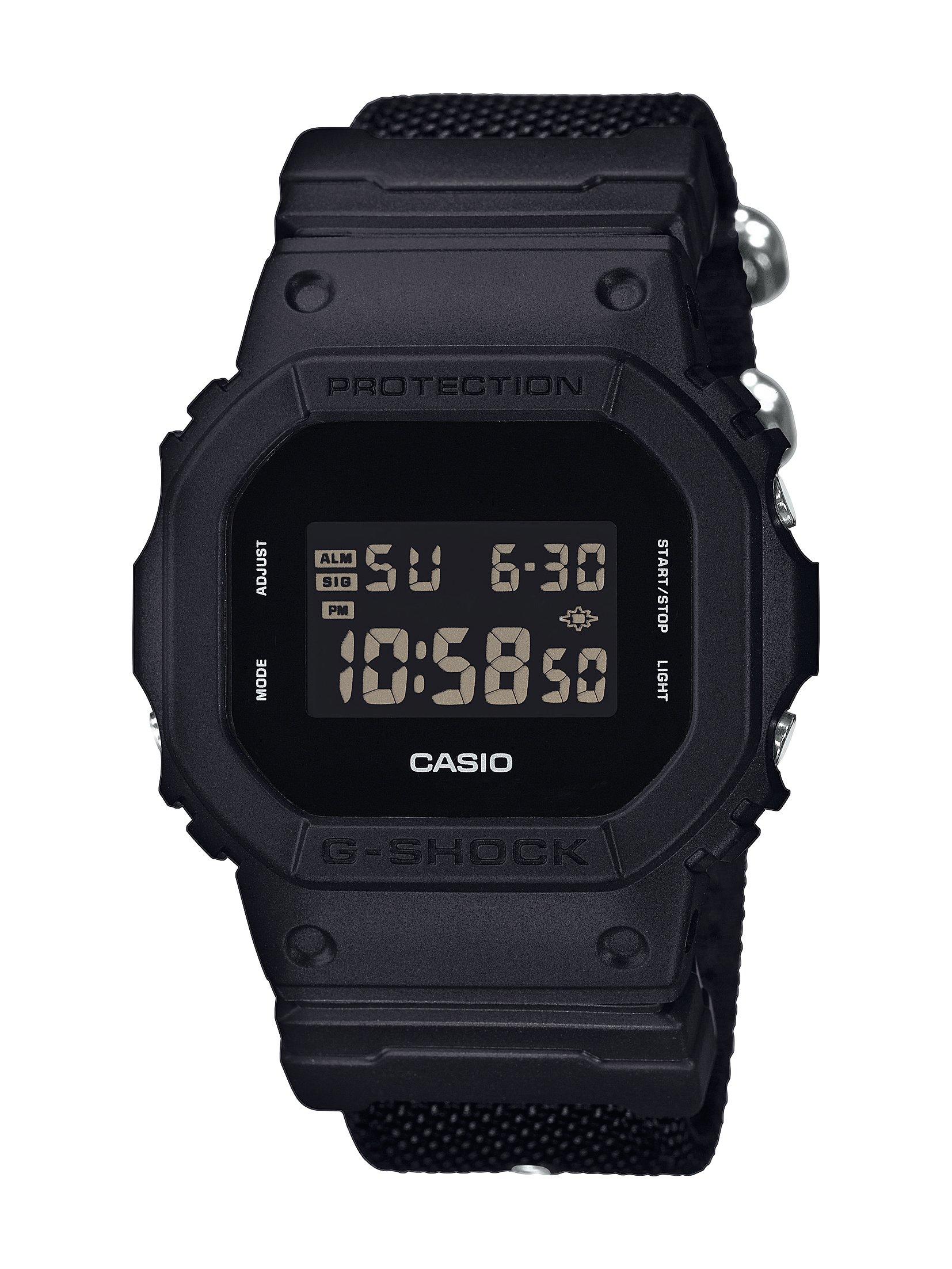 Item Men's watch Casio G-Shock DW-5600BBN black 200M