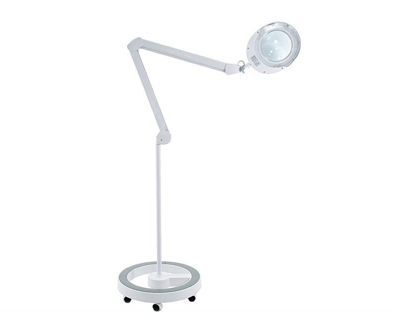 Lampa Lupa Kosmetyczna Led 5D Statyw Elegante 6025