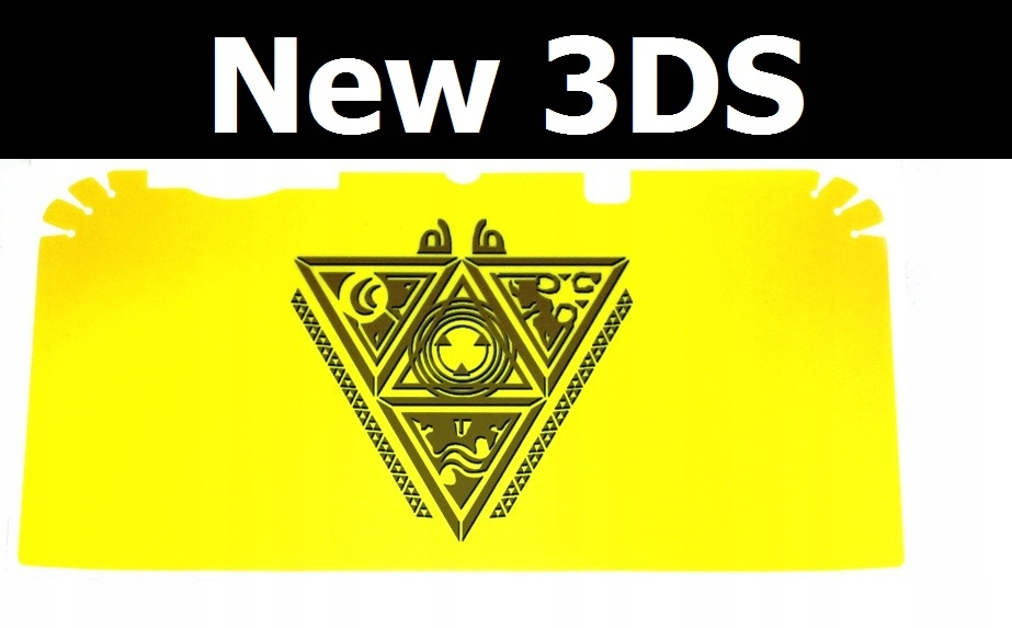 Купить Скин наклейка виниловая на консоль New 3DS [Zel] на Otpravka - цены и фото - доставка из Польши и стран Европы в Украину.