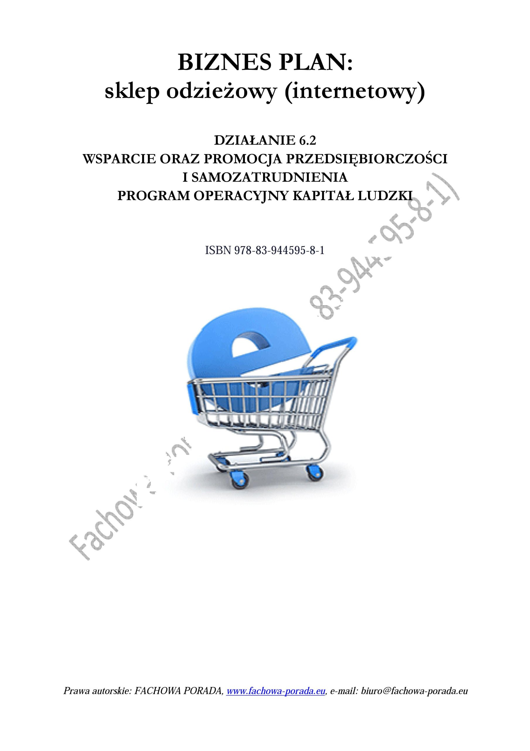 602e040c4eab2d BIZNESPLAN -WNIOSEK sklep odzieżowy (internetowy) 6876882932 - Allegro.pl