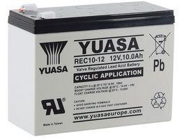 Batéria 10Ah YUASA 12V hlbokému vybitiu