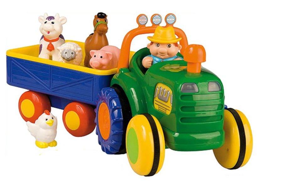 Dumel INTERAKTÍVNE Poľnohospodár Traktora jeźdzący HOVORÍ, že 1+