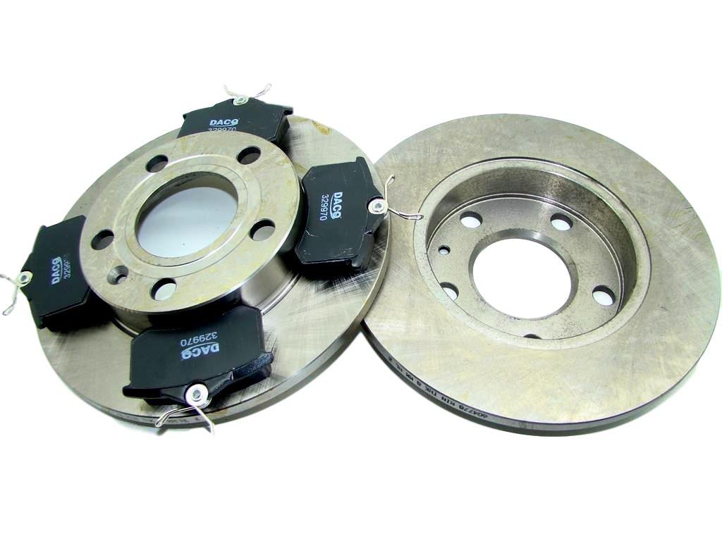 диски + колодки сзади audi a4 b6 b7 exeo 245x10mm