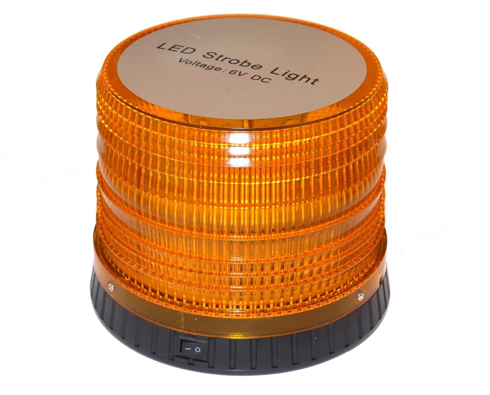 ORANGE ROOK LAMP STROBOSCOPE LED на батарейках