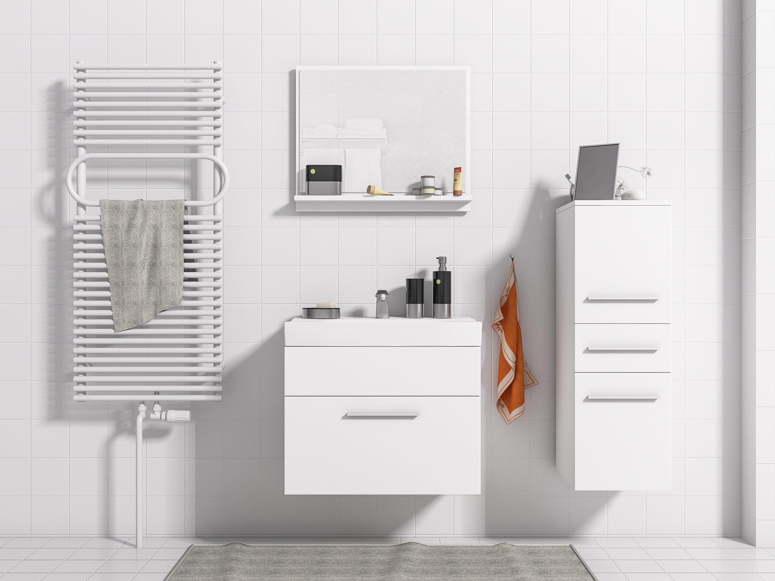 Kúpeľňa TIPO MINI 2 nočné stolíky, zrkadlo MEBLOHAUS