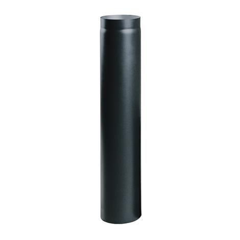 Čierna krbová rúra o priemere 100 cm 150