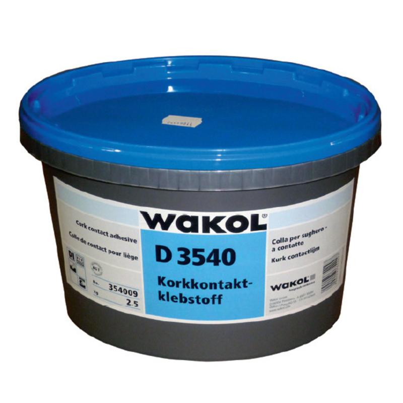 WAKOL D 3540 Клей контактный для пробки 2 ,5 кг пробка