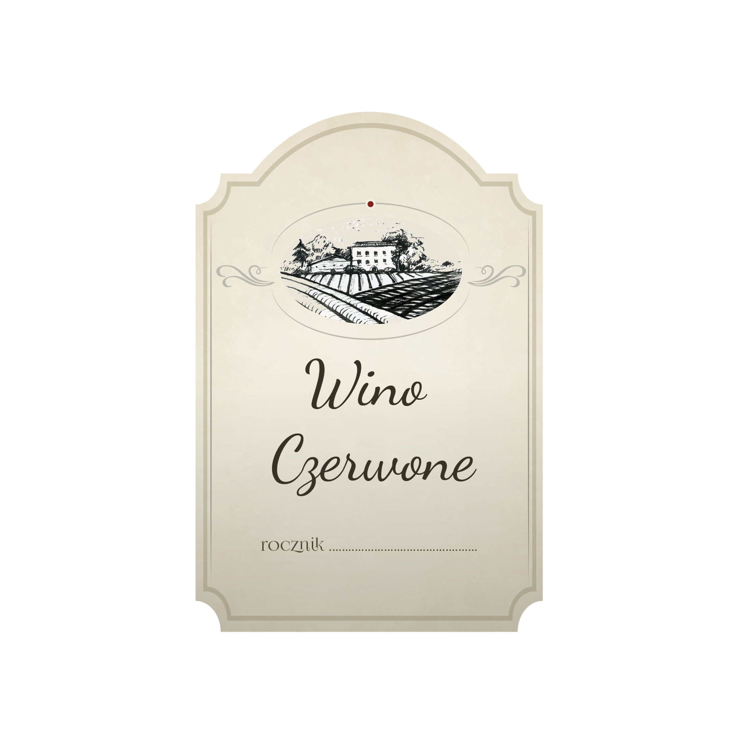 Naklejki Na Butelki Etykiety Na Wino Nalewke 8szt 6719929908