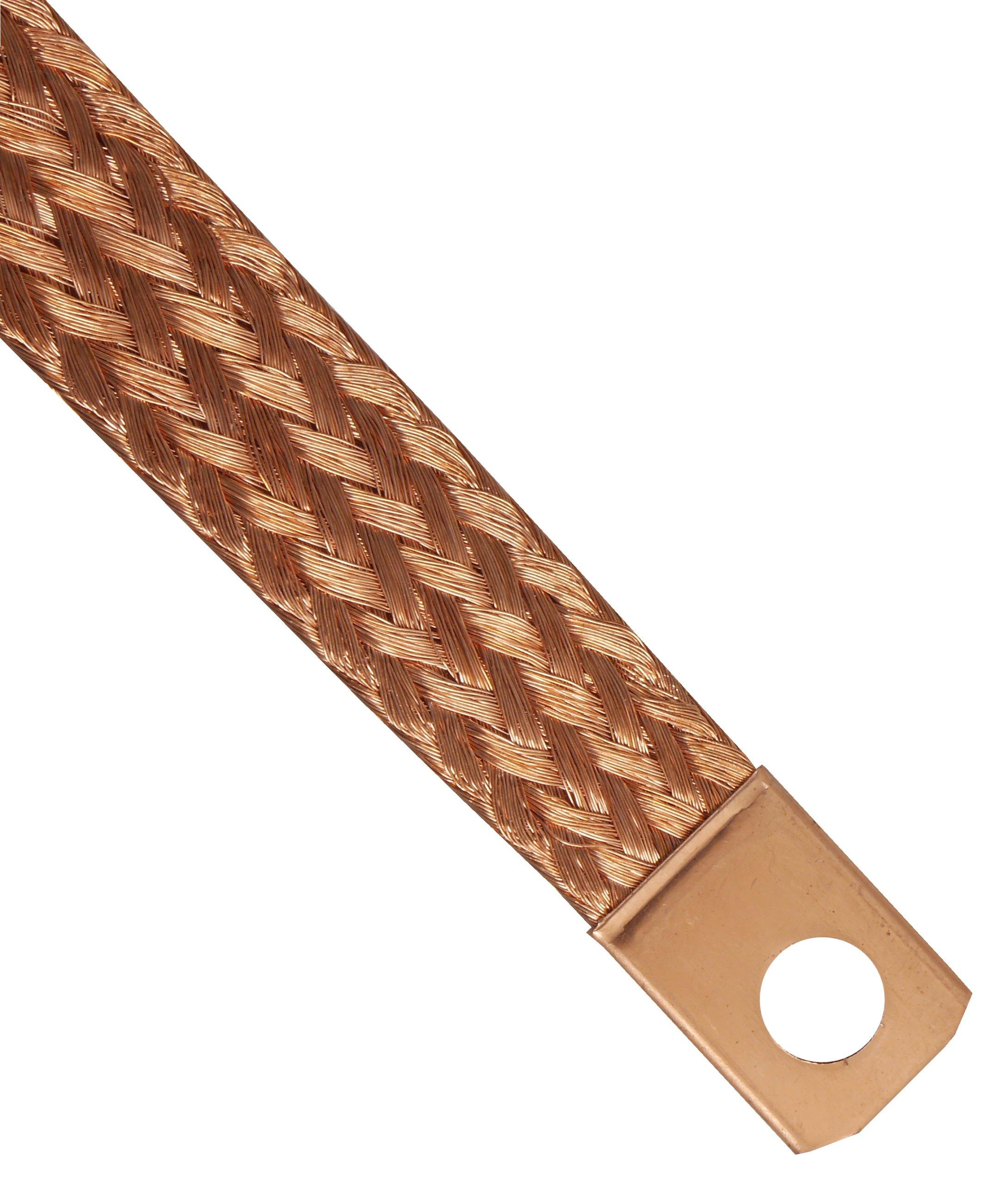 плетенка кабель кабель массы массовый 60cm медный