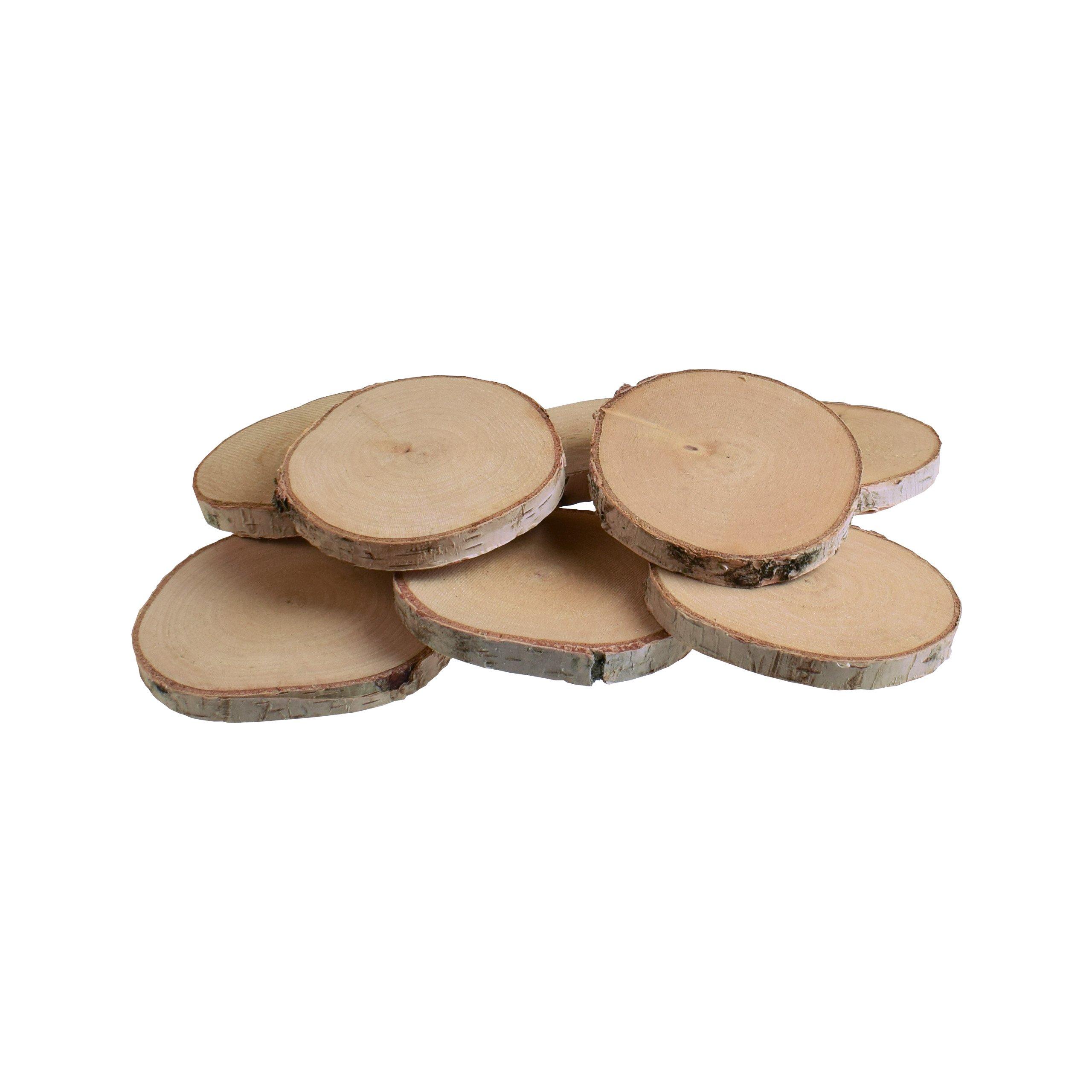Náplasť, plátky, drevené puky, drevené 8-10 cm