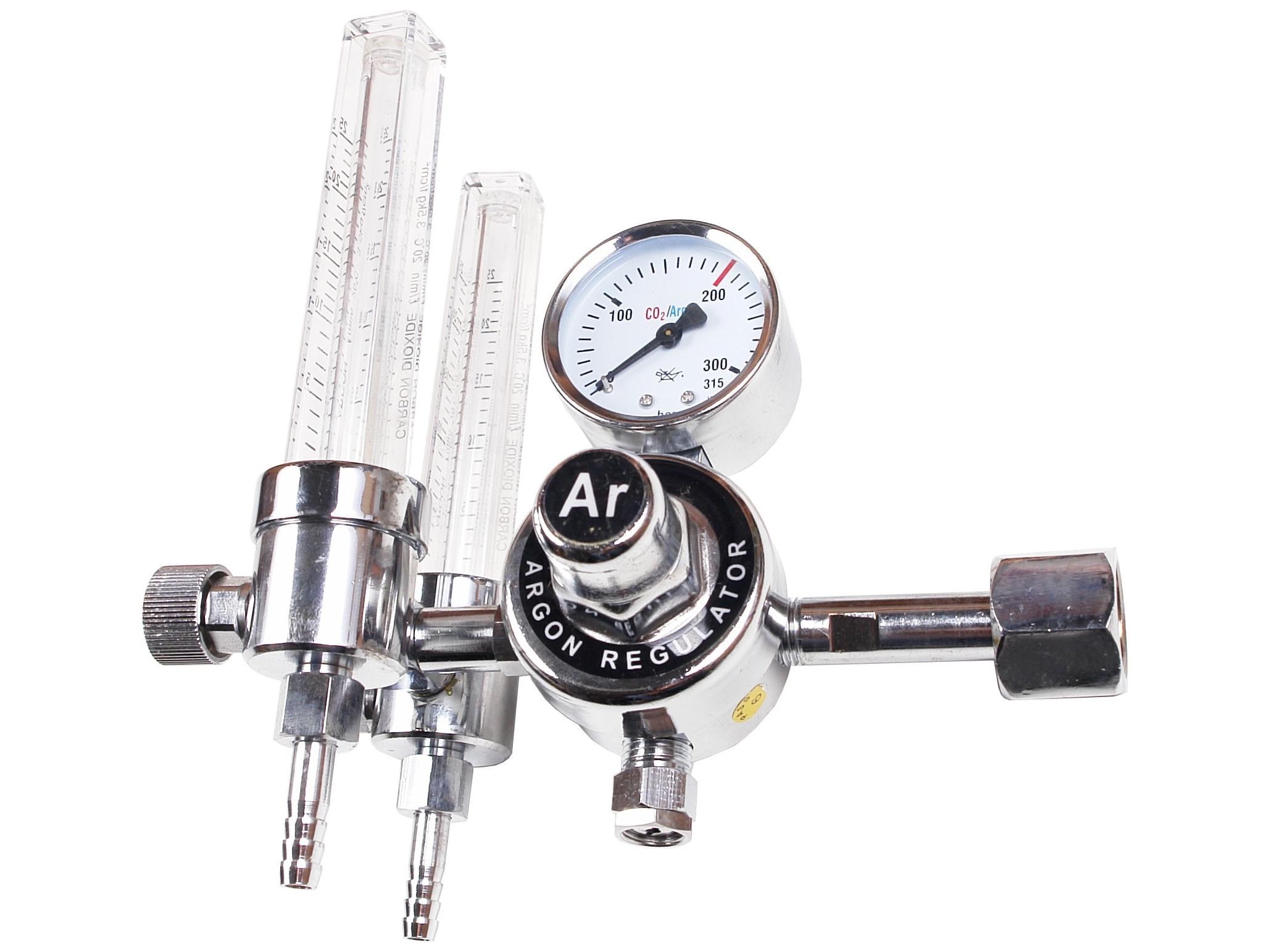 Dvojité Redukcia CO2 Rotametr WROCLAW