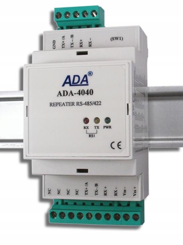 Separátor - opakovač RS-485 / RS-422 ADA-4040 verš