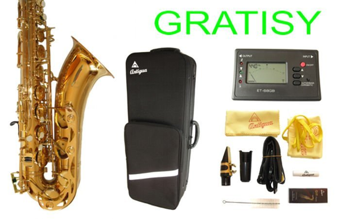 Tenor Saxofón Antigua TS2150LQ Sax Tenor