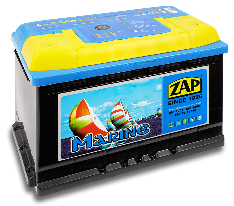 Batérie pre loď Energiu Morského ZAP 75Ah 80Ah