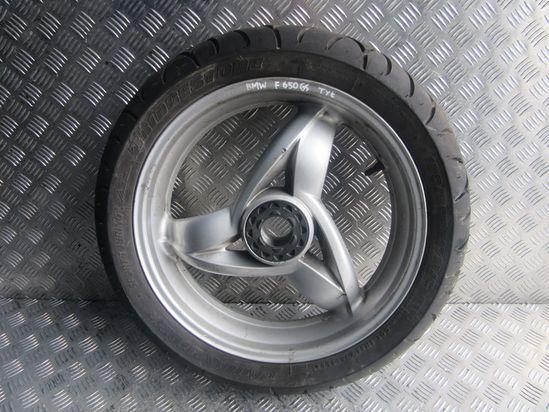 BMW F 650 CS F650 Zadný zadný zadný zadný kruh pneumatík