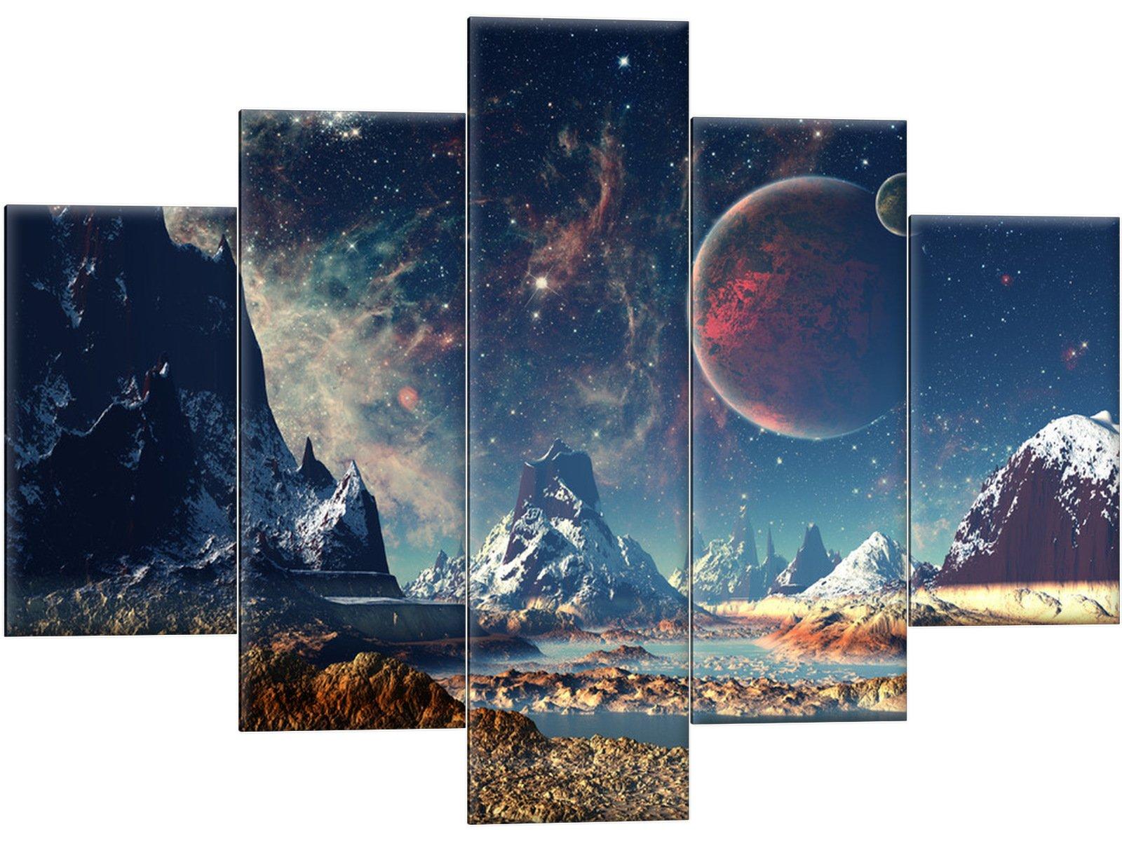 Obrázok tryptickej zahraničnej planéty 150x105 cosmos hviezda