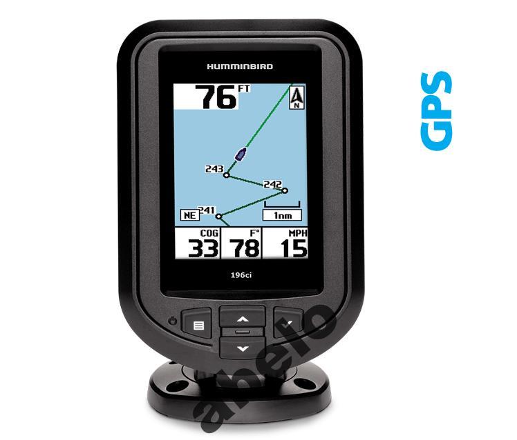 Fishfinder Piranha MAx Humminbird 196i GPS