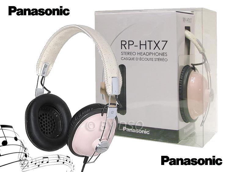 7 FARIEB PANASONIC RP-HTX7 RETRO SLÚCHADLÁ