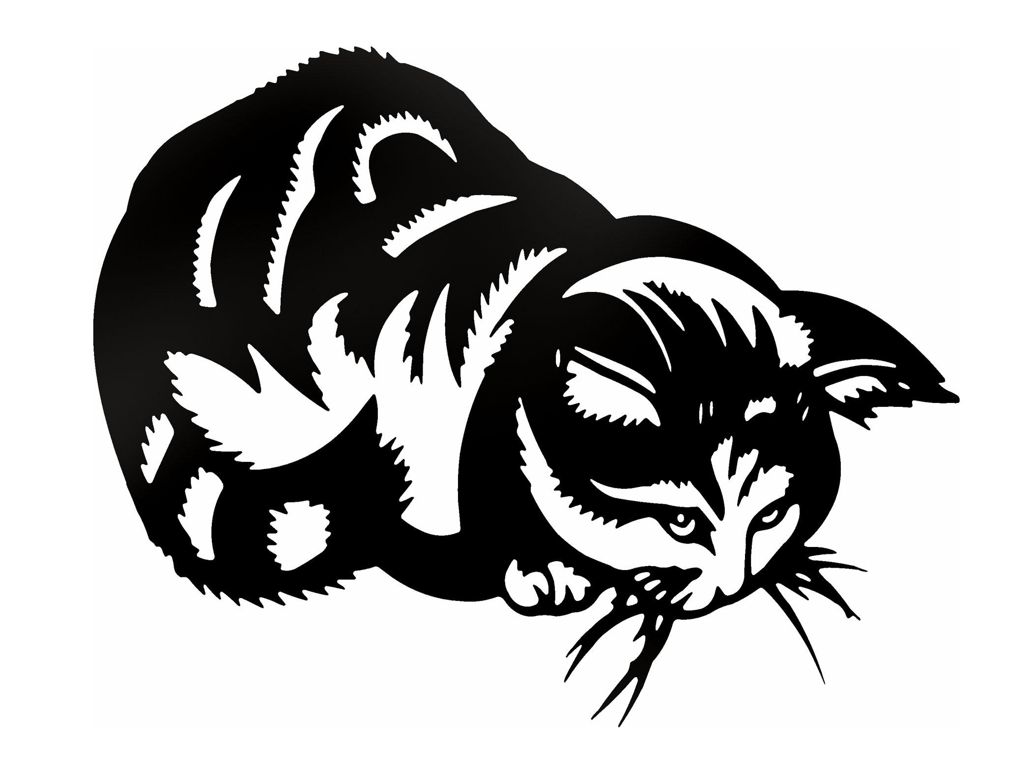 Cats Cat Kittens Sticker Sticker XL