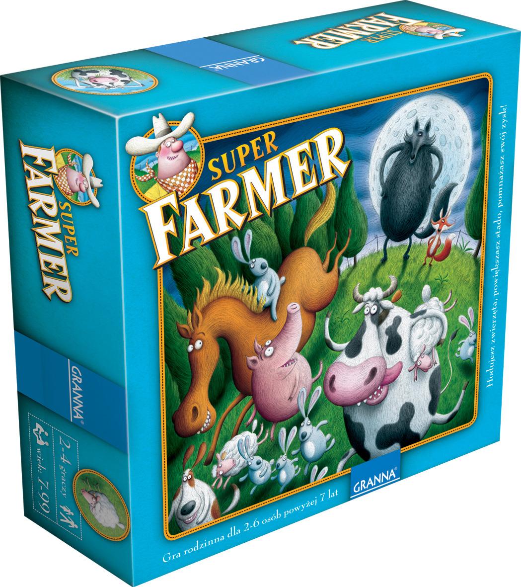 Granna Super Farmer Delux Farma Gra Planszowa 5007139922 Allegro Pl