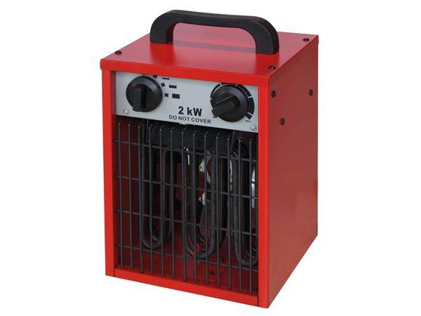 Elektrický ohrievač Radiátor 2KW Blower