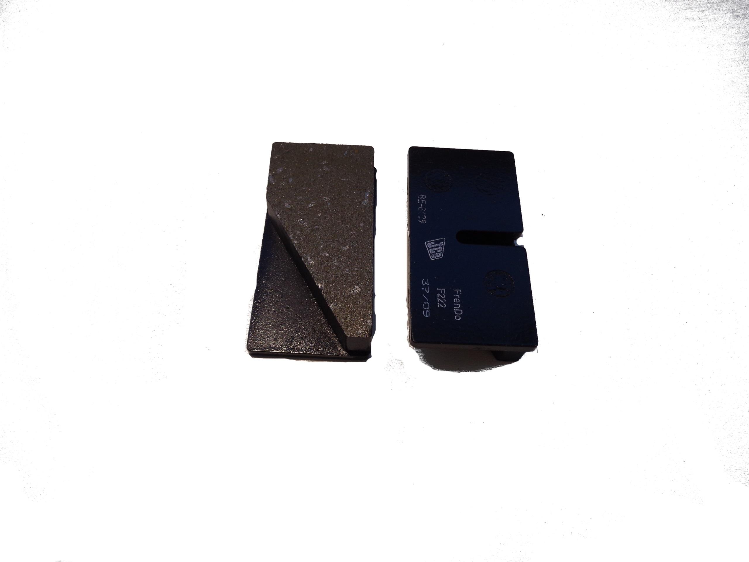 Колодки тормозные JCB - 15/920160 PREMIUM