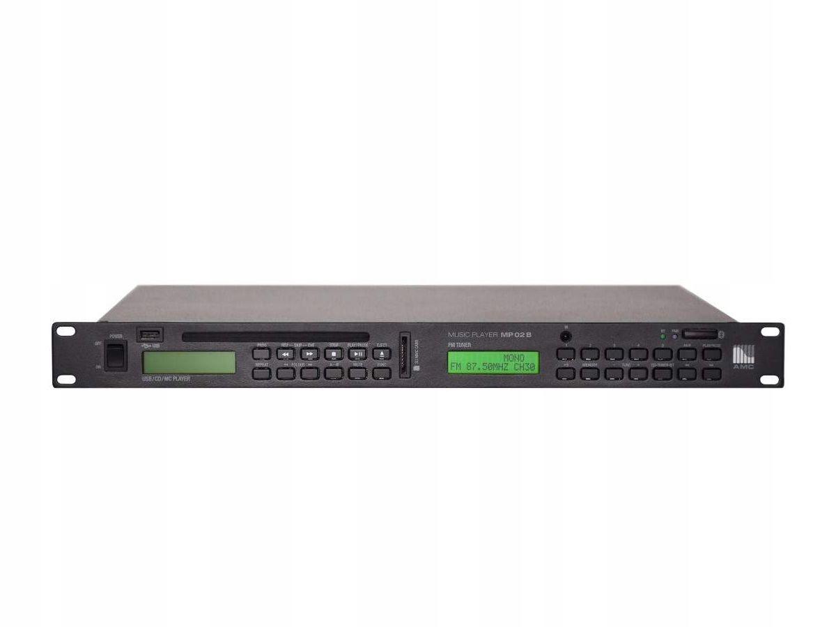 Item AMC MP 02B - CD Player/FM/USB/SD/BT