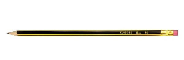 Drevená ceruzka s TETIS 2B Eraserom
