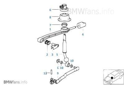 комплект ремонтный домкрата селектор bmw e30 e36 e46