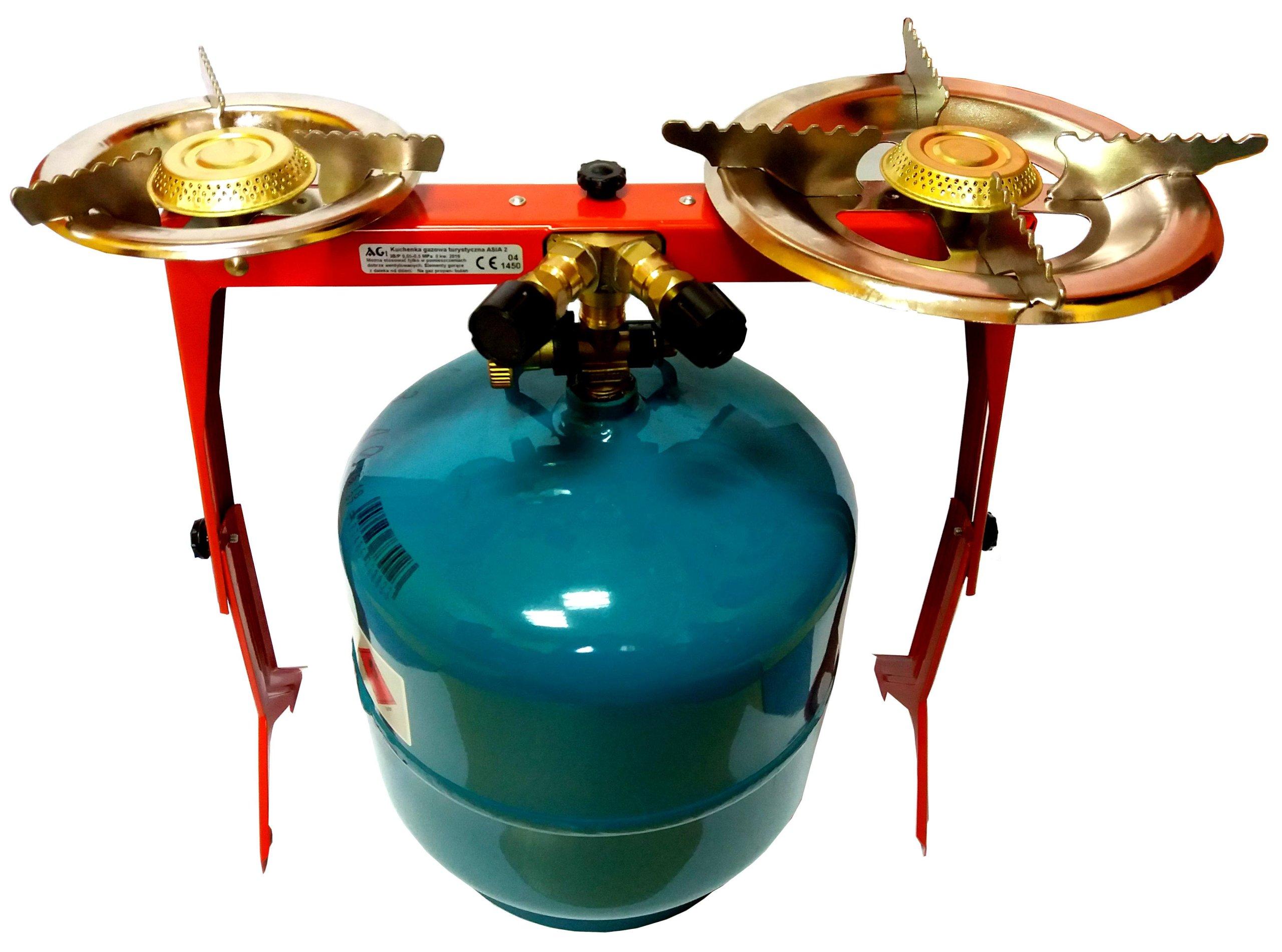 Turistický plynový varič 2 Sporák+plynovej 3 kg