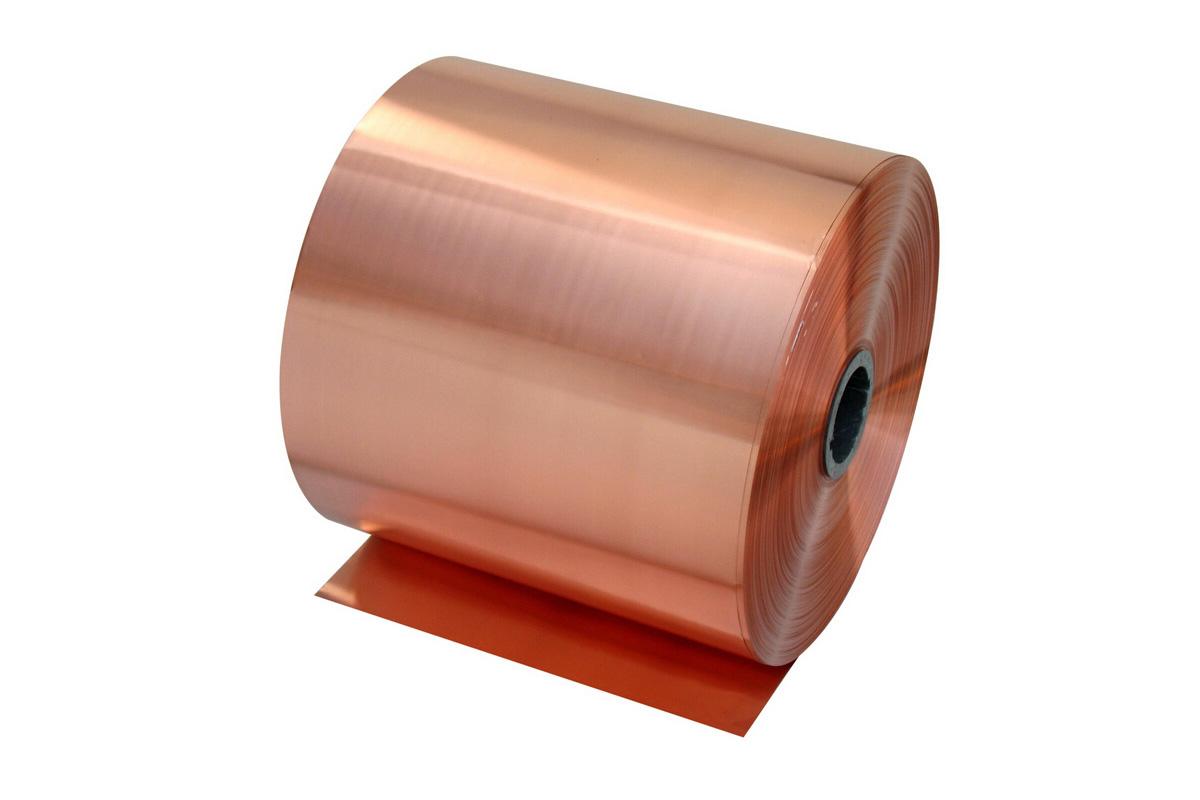 Item Steel sheet, copper tape, copper 0.1 mm 30cm x 1mb