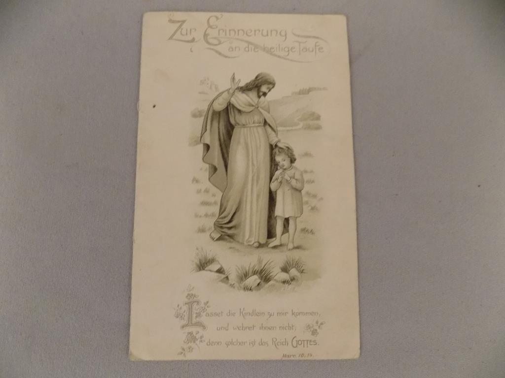 RYCINA NA PAMIĄTKĘ CHRZTU ŚWIĘTEGO 1909r