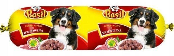 Karma dla psa Baton Basil z wołowiną 30 x 900 g Marka inna
