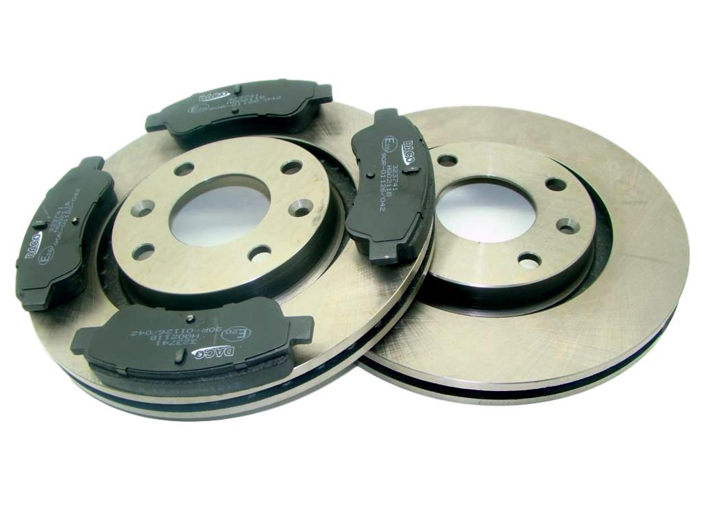 диски + колодки berlingo партнер c2 c3 xsara 206