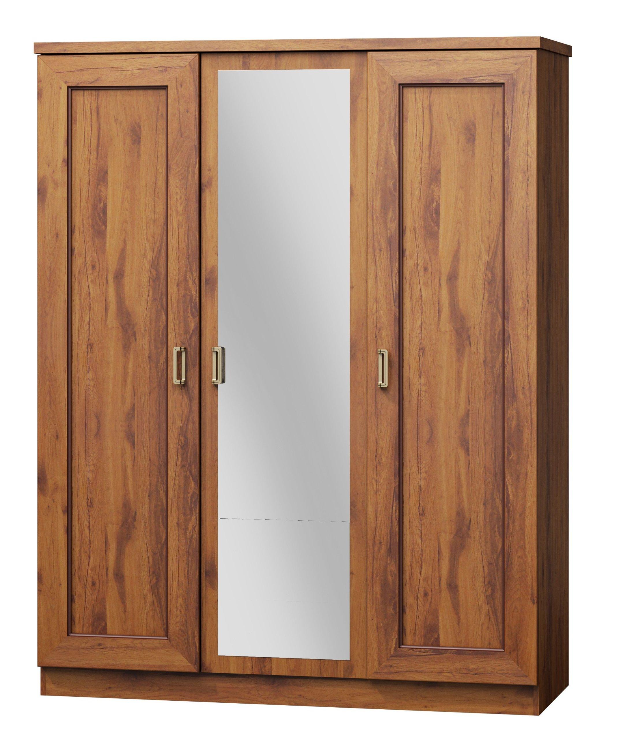 Šatník MAXIM 3-dverové! 2 FARBY!! Vintage Štýl