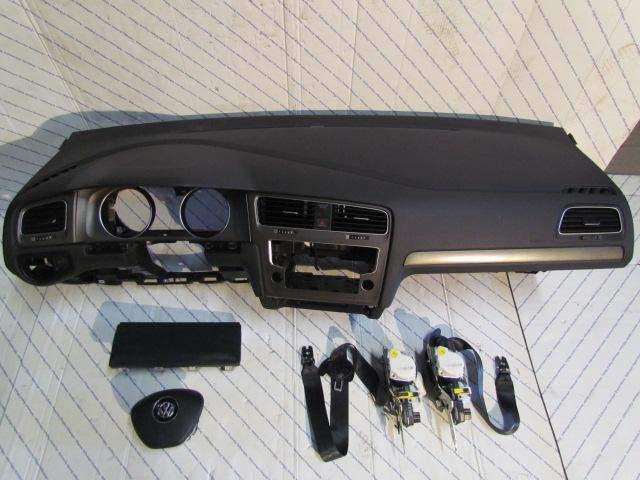 Golf 7 VII orginal доска консоль airbag водителя кп изображение 1