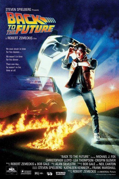 Návrat do budúcnosti - filmový plagát 61x91,5 cm