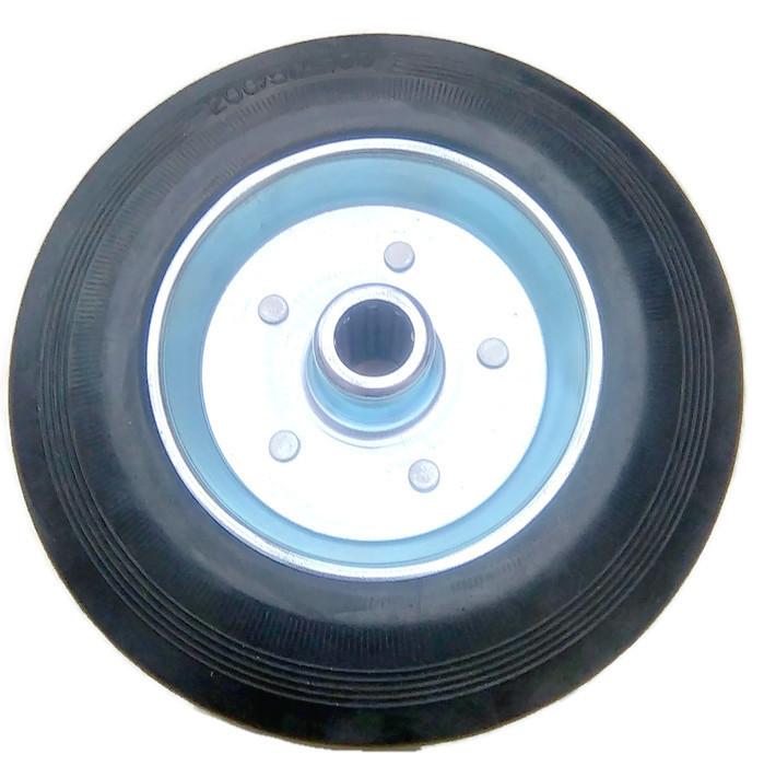 Koło stalowo gumowe wózek kółko 200 mm koła kół