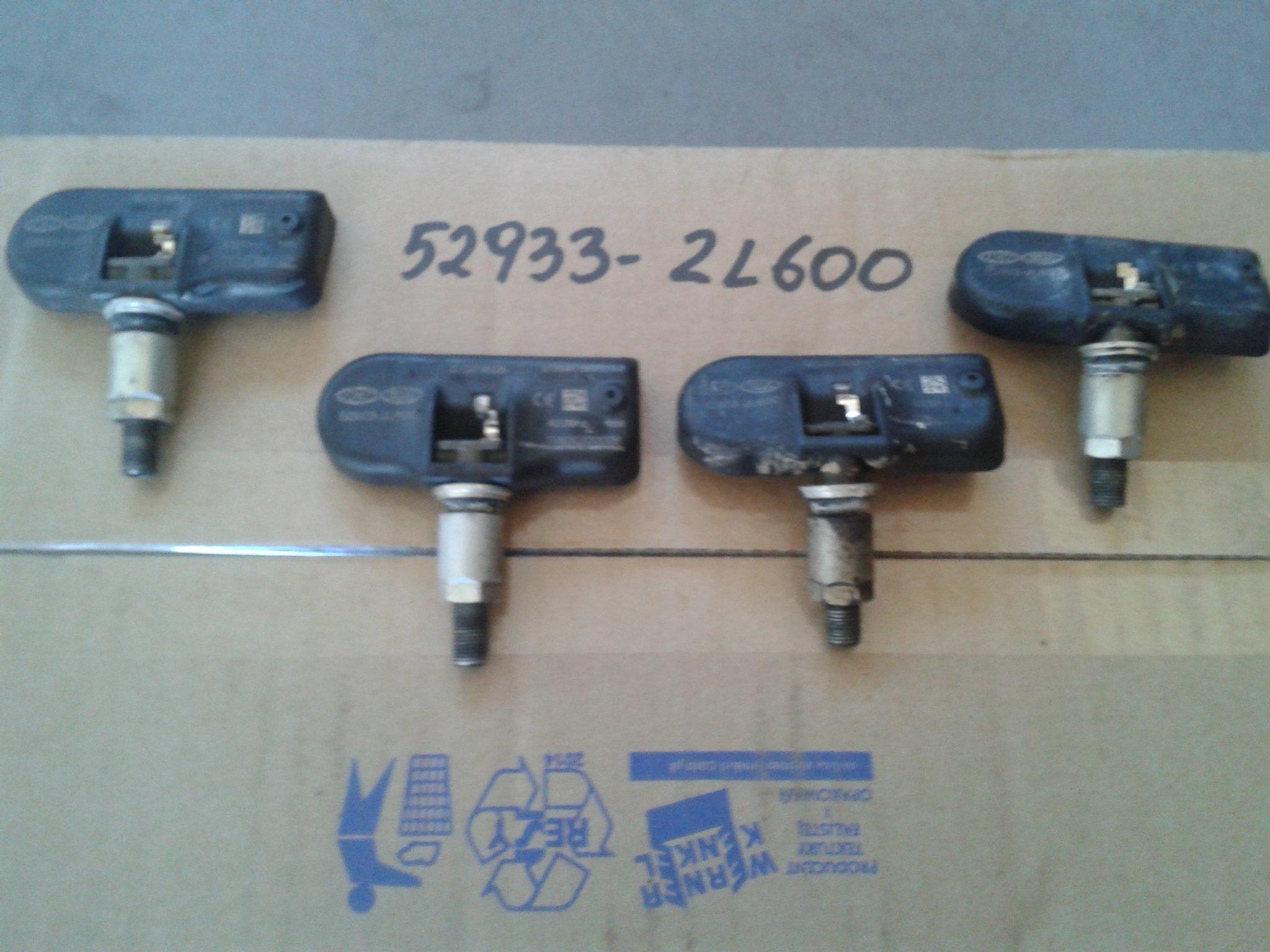 HYUNDAI I30 KIA Snímač tlaku v pneumatikách 52933-2L600