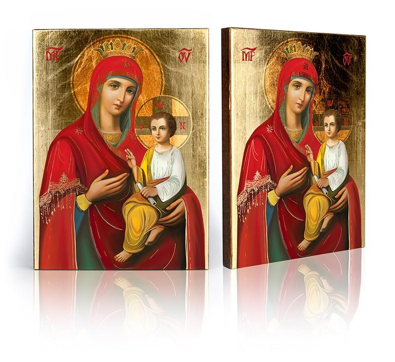 Icon Matka Božia rýchlo spĺňa požiadavku veľkosti f
