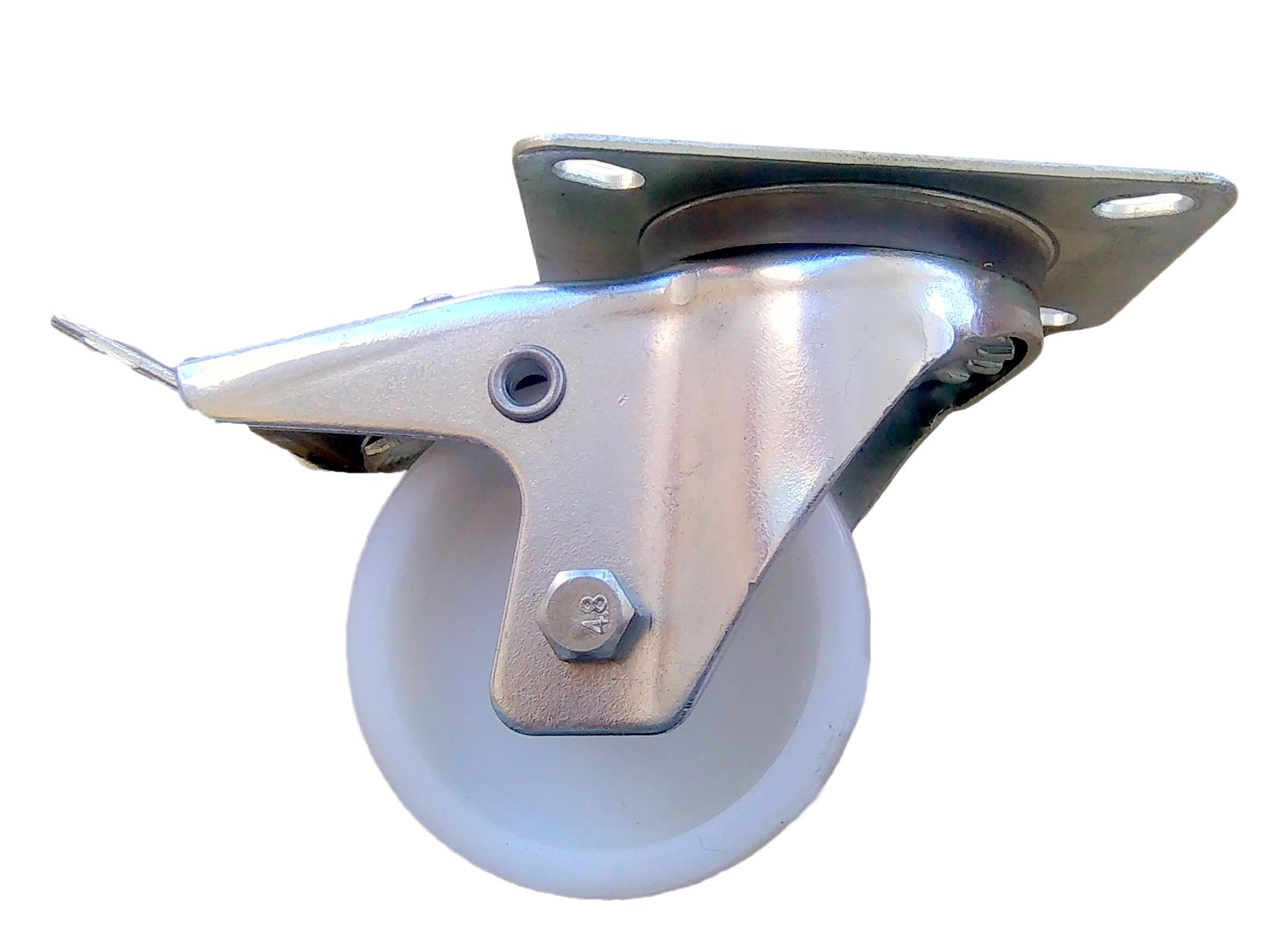 Kruh kolesá 80 mm 90 kg Polyamid metla