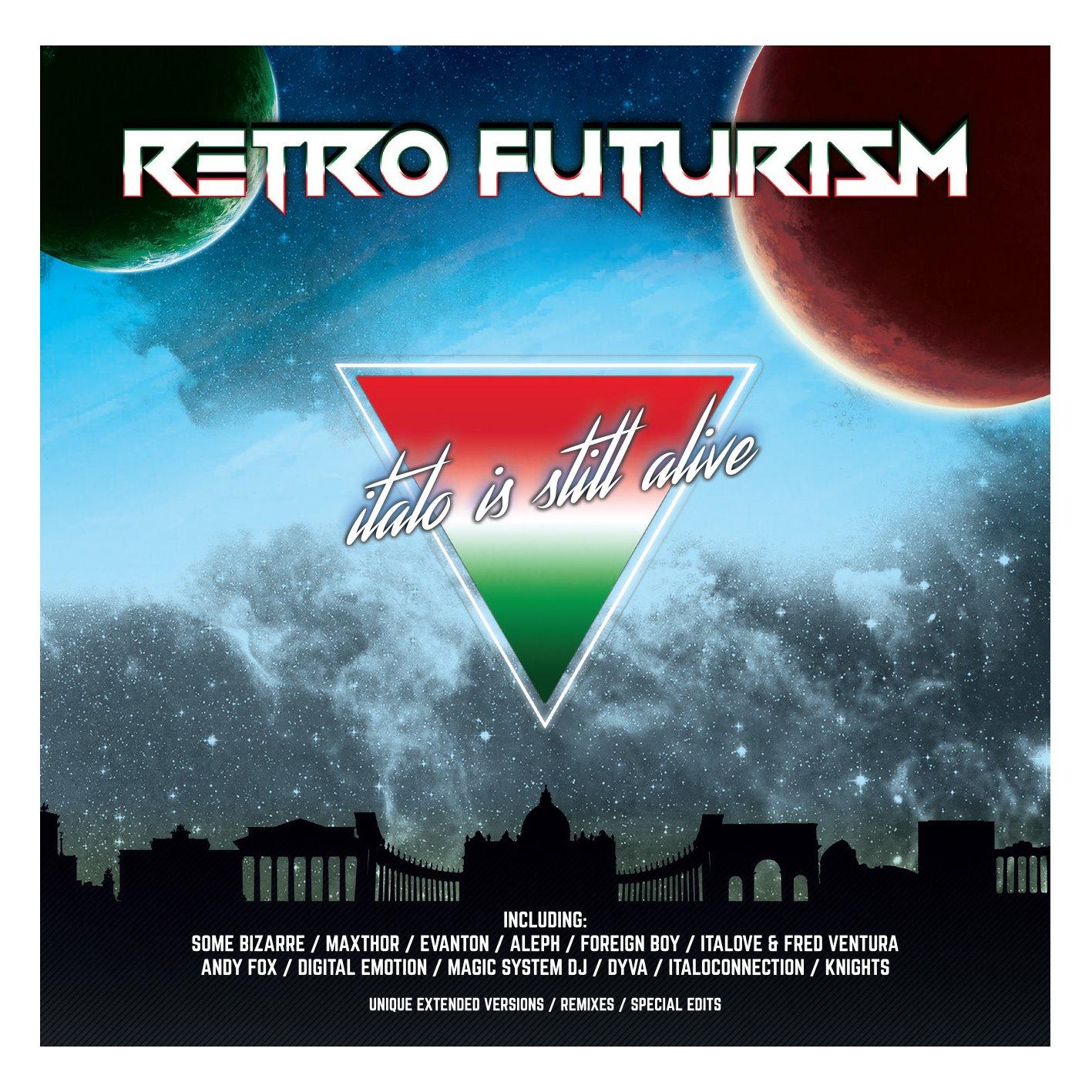 Retro Futurism - Taliansko Je Stále Nažive 2017 SKLADOVANIE. CD
