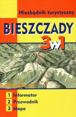 Item Bieszczady mountains pocket guide map New Edition