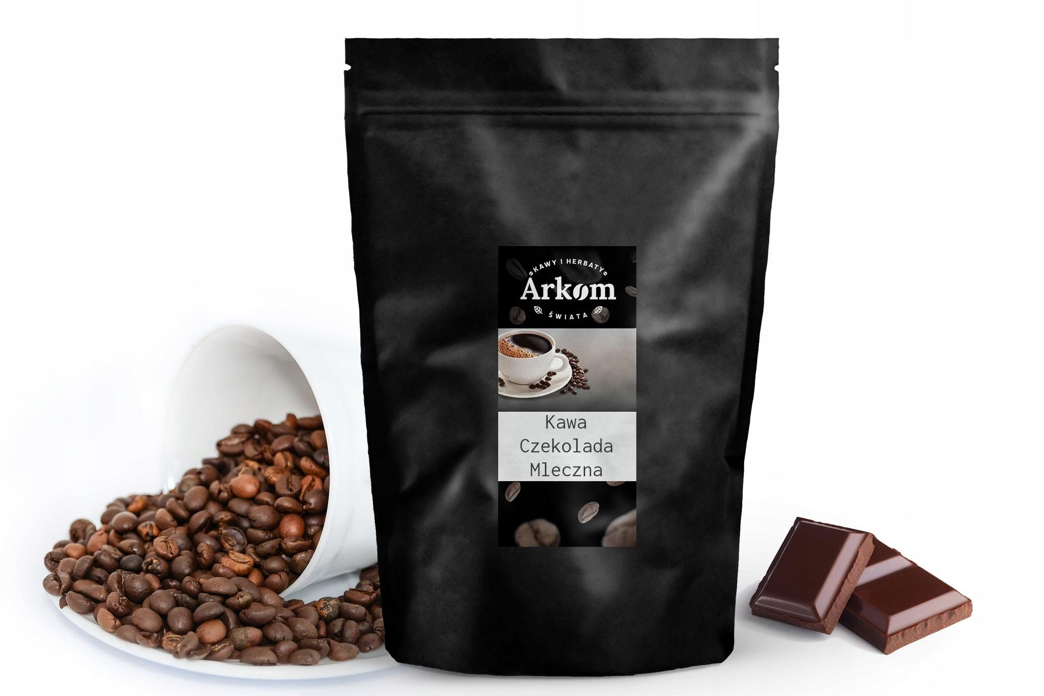 Smakowa káva - Mliečna Čokoláda 1kg