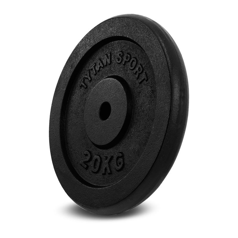 Liatinové zaťaženie Tytan šport 20 kg __ hrad