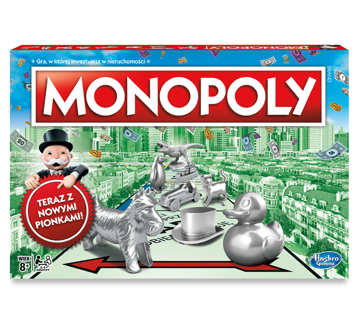 Item Hasbro Monopoly Classic Standard C1009 NEW VERSION