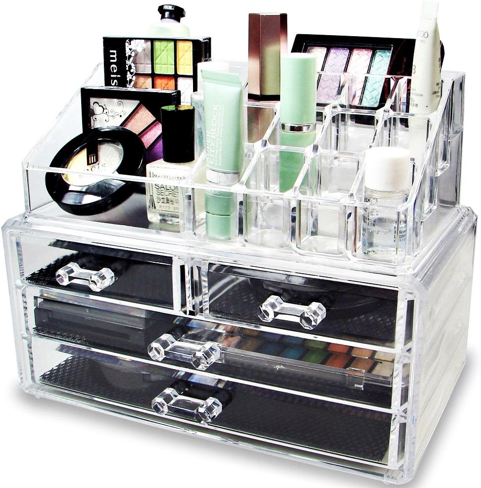 Organizátor Box Kontajner pre kozmetiku - 2 elem!