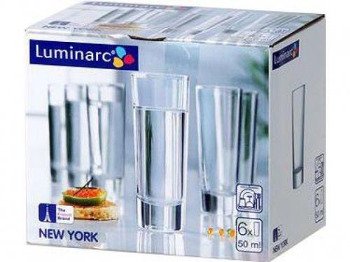 230601 Luminarc Vodka Sklá 50 ml 6 kusov