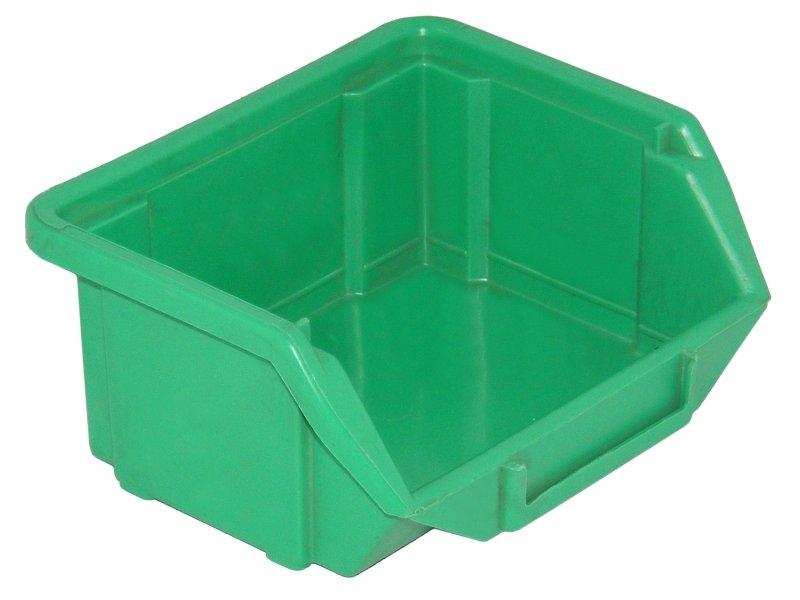 Zelený skladový kontajner - 110x90x50mm