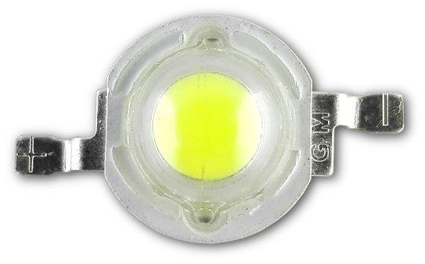 DIODA LED 1W ZIMNA 6000-6500K 35mil EPISTAR